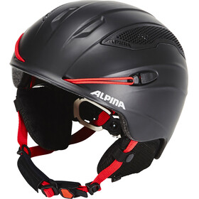 Alpina Snow Tour Helmet red/black